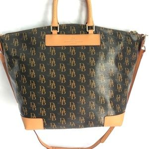 Dooney & Bourke Signature Vanessa Satchel